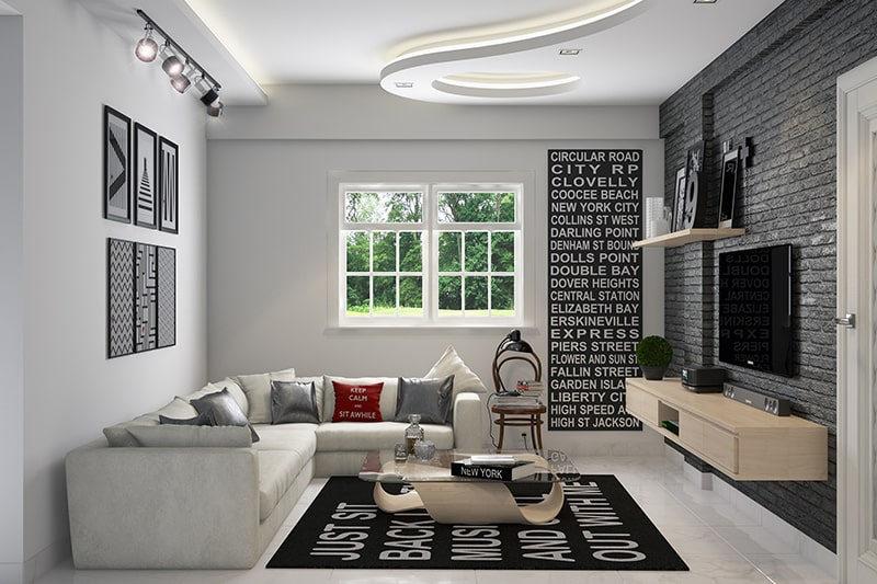 Pop fall ceilings should be mixed in the correct proportion to make beautiful pop false ceiling to your home