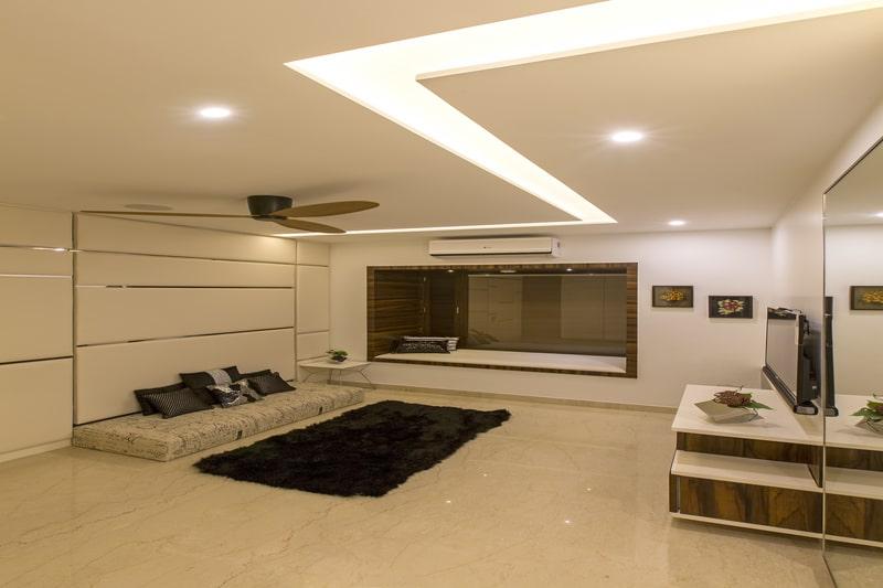 Gypsum false ceiling lights can create beautiful gypsum false ceilings