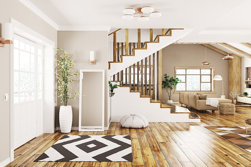Wooden staircase is one of the type of stairs design and its versatility and elegant charm