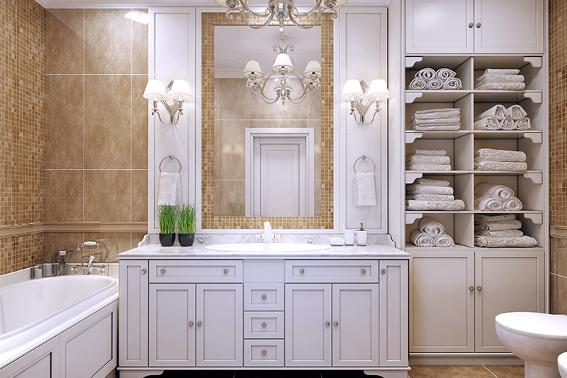 White bathroom cabinet ideas for those of you who love stacking things up in white bathroom cupboard