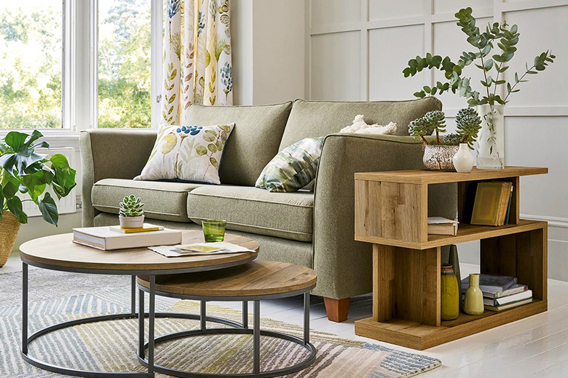 Small living room furniture ideas where nested coffee tables can help enhance the space and facilitate.
