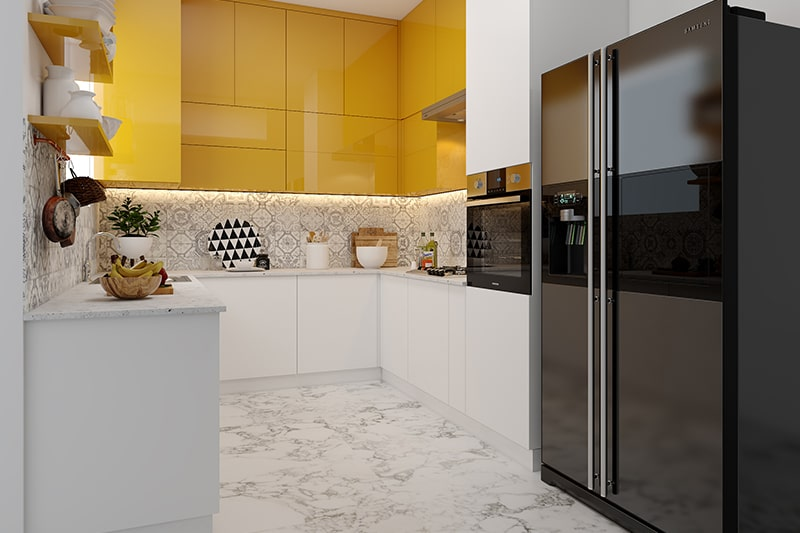 Difference between civil kitchen and modular and is the difference in functionalities