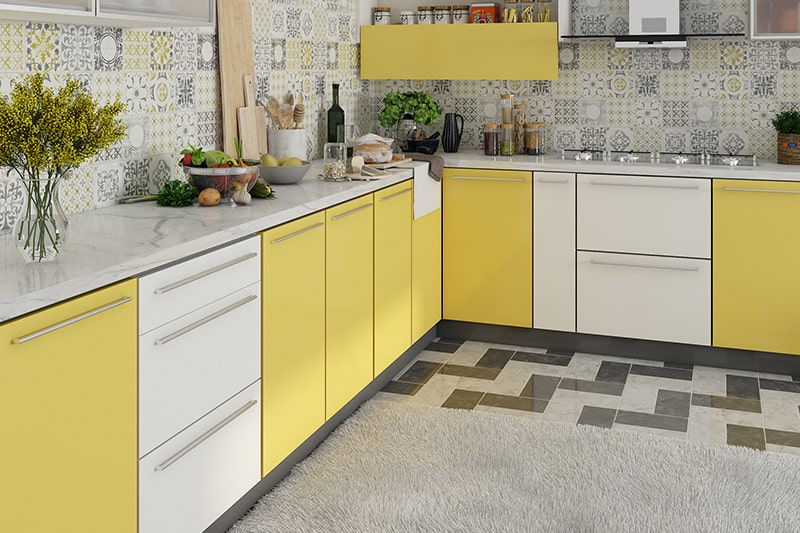 The process of designing and building a civil kitchen is lengthy and messy which is not in the case of modular kitchen.