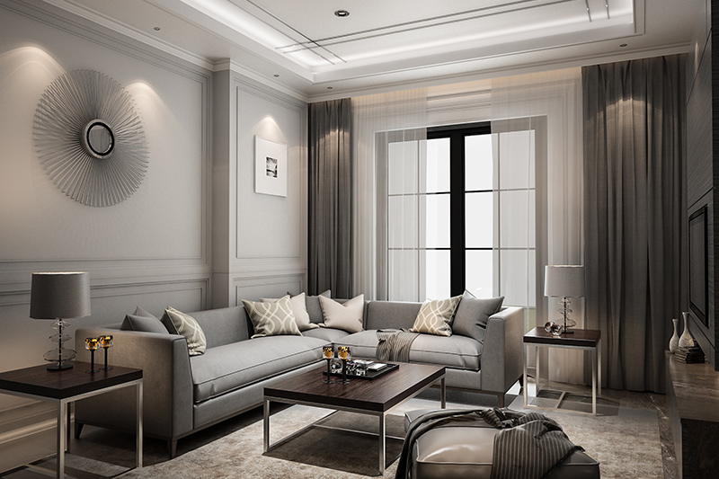 Luxury living room ideas metallic accents works well and brings in a flair of sophistication.
