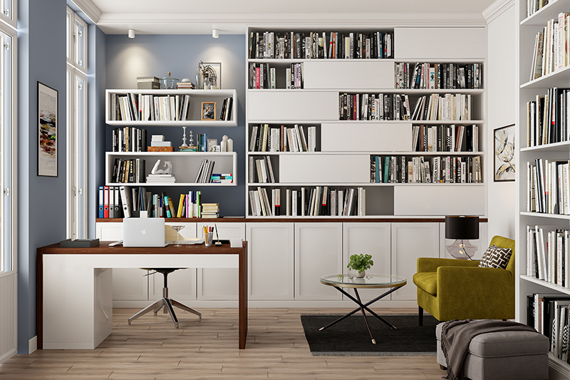 Large home office desk online to clear all those blocks if you are a creative writer