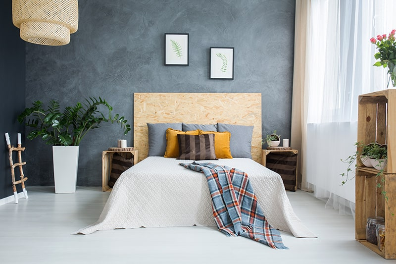 Wooden headboard design makes your room cosy and warm for headboard designs