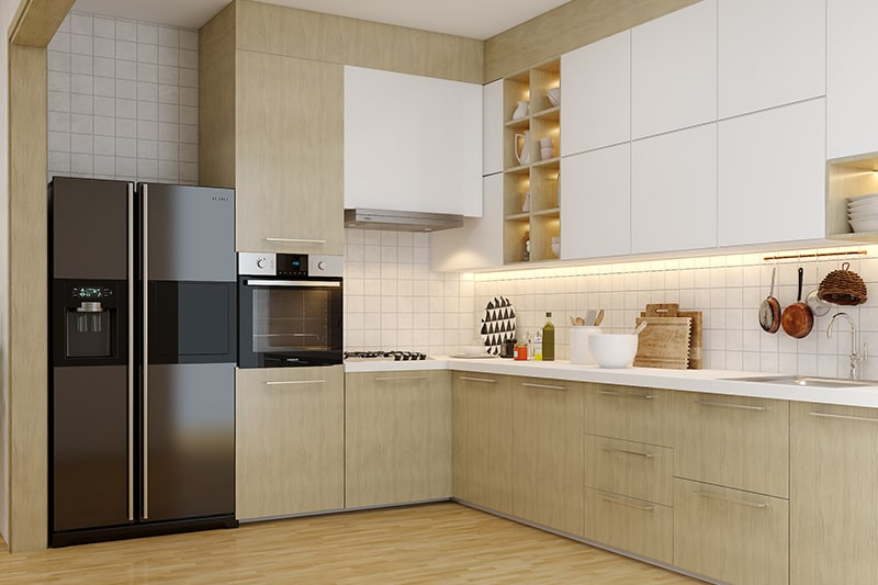 Modular kitchen design trends in hyderabad with modern functionalities