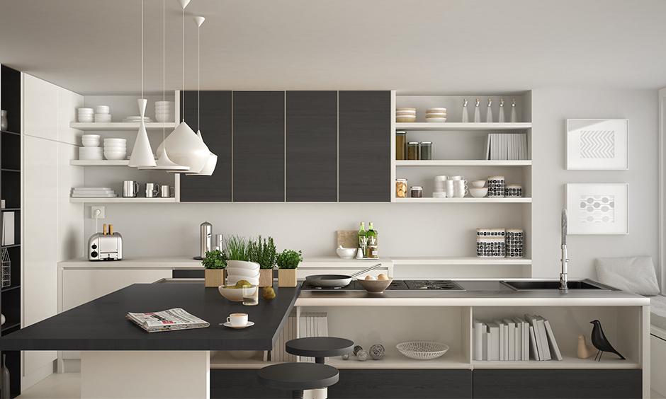 Grey And White Kitchen Design Ideas Design Cafe