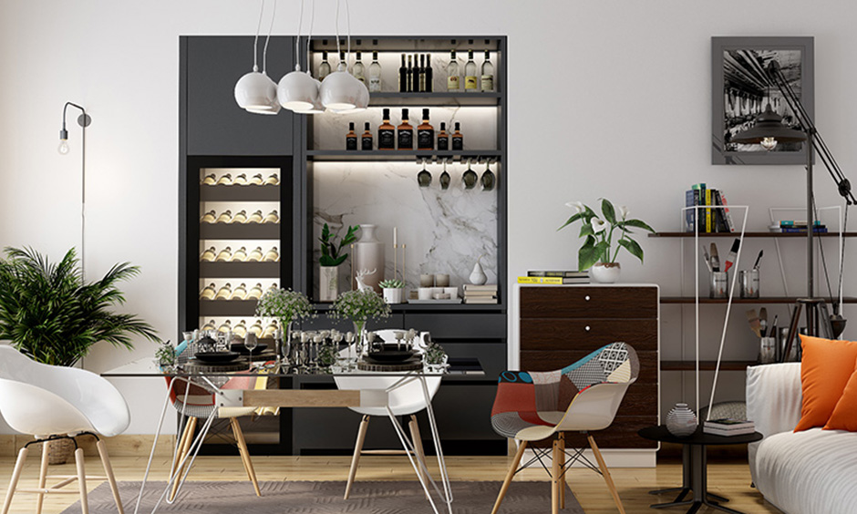 Modern bar cabinets for home