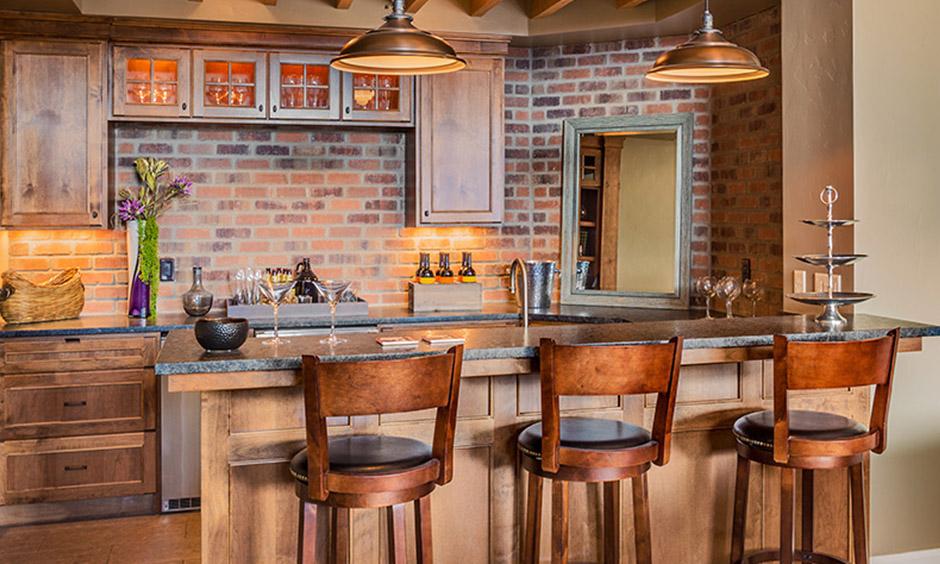 Bar cabinet design for home