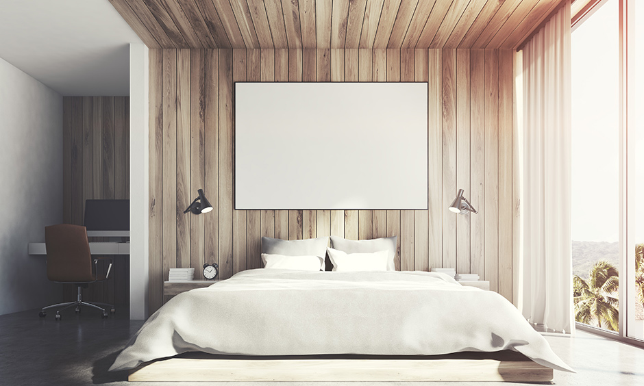 Bedroom wooden wall design endless possibilities to play with the designs, textures and style when it comes to rustic barn wood.