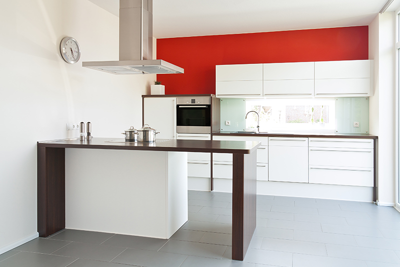 Kitchen paint color ideas red is the colour of energy, and it's a great choice.