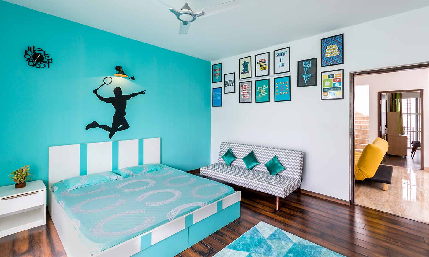 list of interior design companies in bangalore which design a bedroom as per your choice