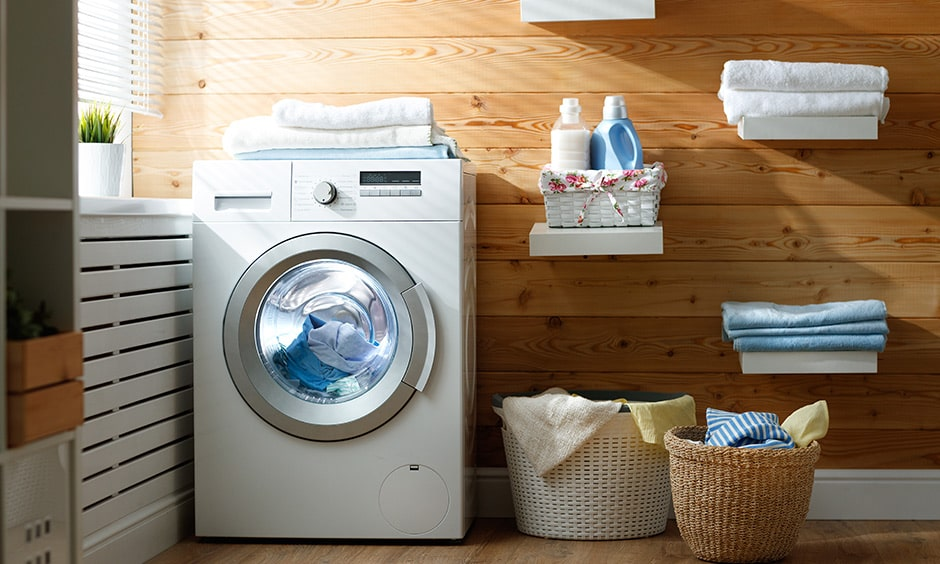 Clean your soft surfaces like curtains, sheets for laundry using warm water to prevent covid-19