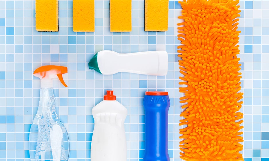 Use the right cleaners and cleaning agents to clean your home during covid-19