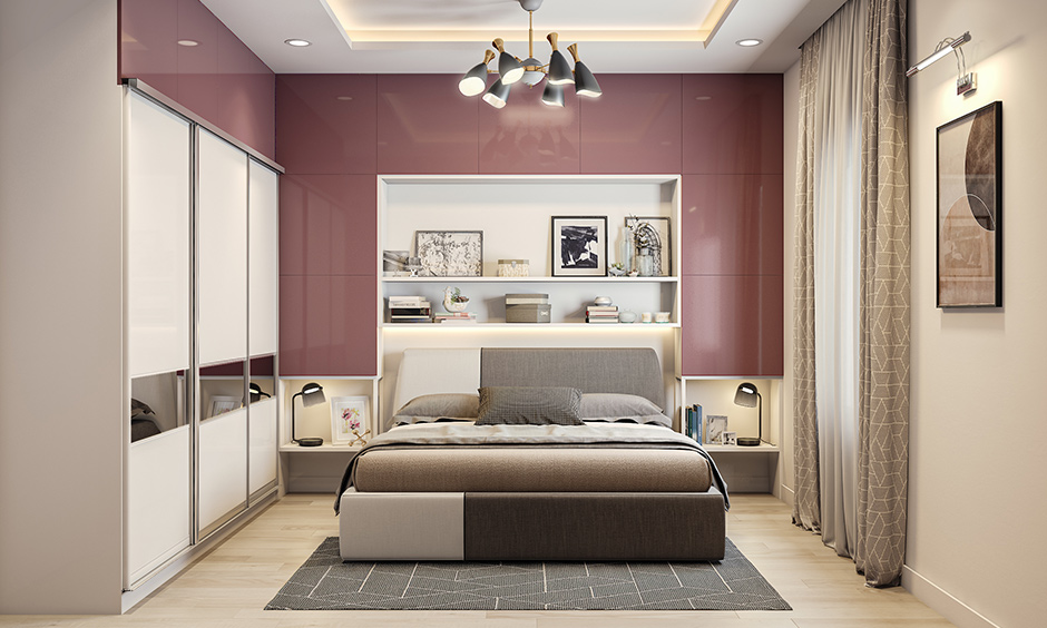 Laminates for bedroom with glossy variant best for guest and master bedroom in a wide variety of patterns