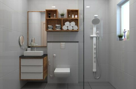 Bathroom shelves designs for your home