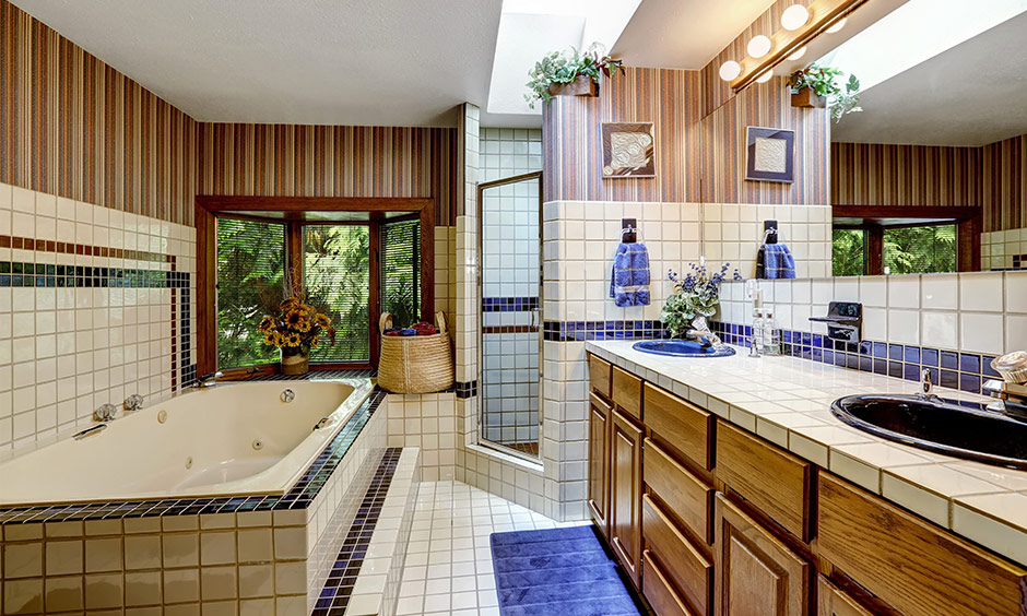 Bathroom wallpaper ideas for your home.