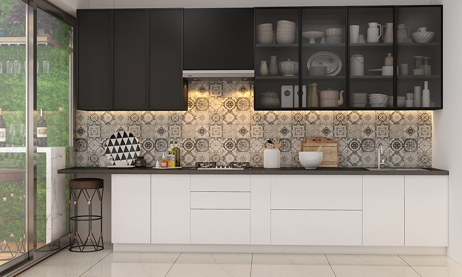 Black and white kitchen designs for your home