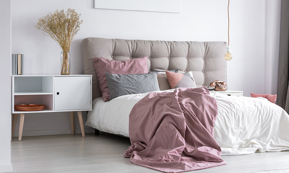 Cozy bedroom ideas headboard makes your bedroom comfortable and adds an aura of elegance to a room.