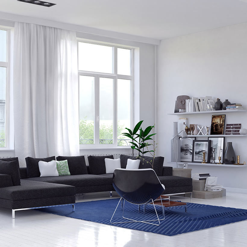 Minimalistic living room design ideas for your home