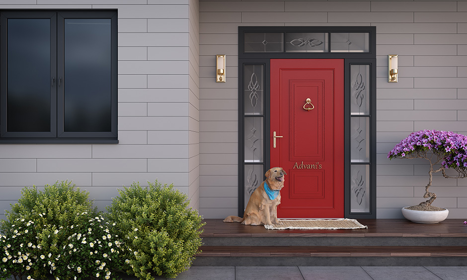 If you are not sure that what color should i paint my front door then it can be this red one