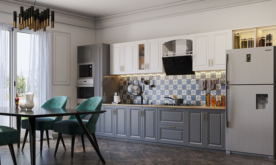 Duco or matte or glossy finish is a type of paint, these duco is often used in kitchens, crockery units and bar units