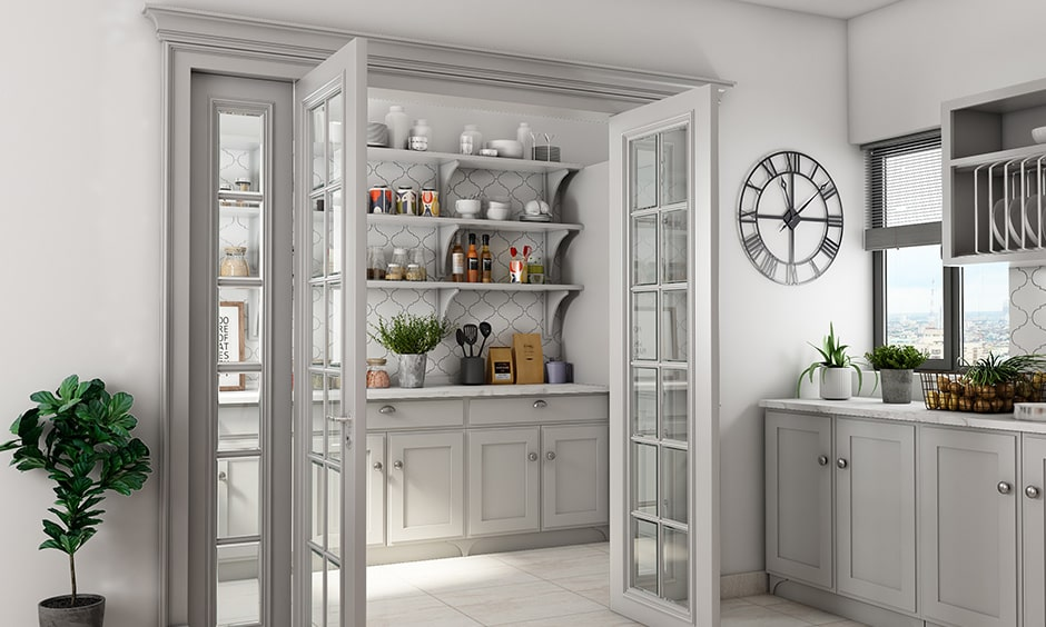 Pantry cupboard designs kitchen to make a simple kitchen pantry design