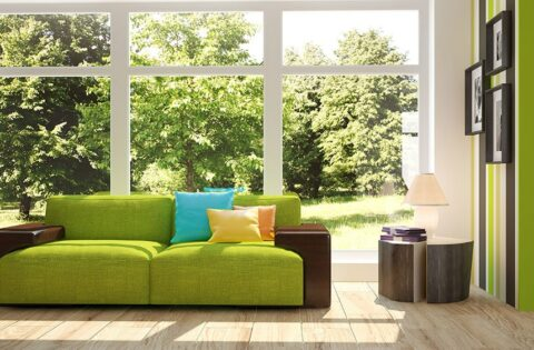Green living room design ideas for your home