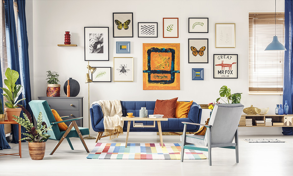 Diy wall art painting ideas with a gallery wall which comprises of pictures, artwork and photos