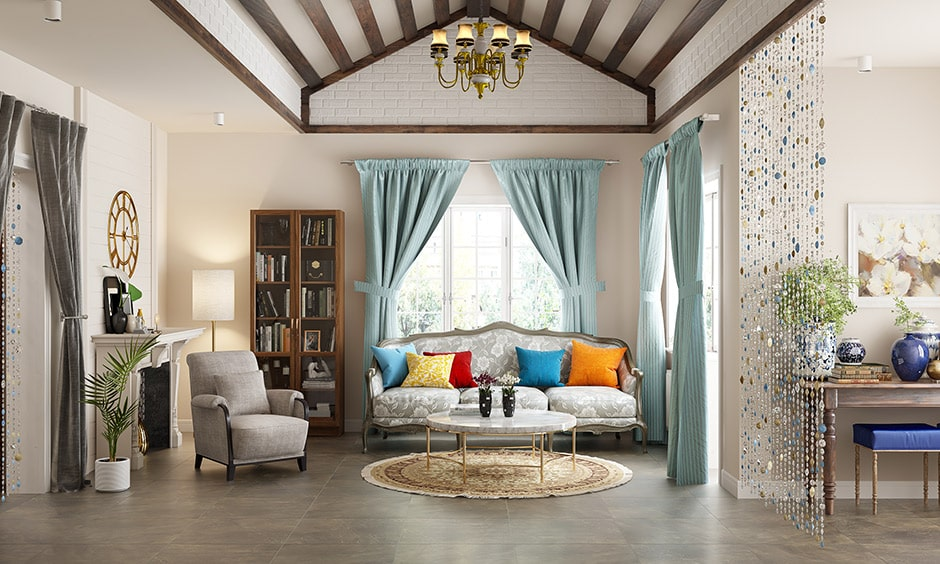 French cabriole style sofa, this style of sofa is one unbroken piece without cushions