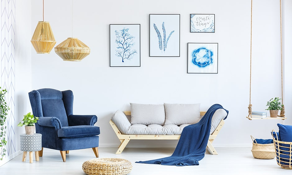 Settee sofa styles with cushions, and a shallow seat with wooden legs