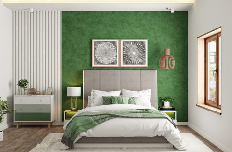 Green bedroom design ideas for your home