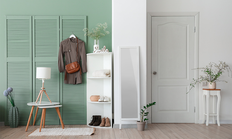 Corner shoe rack designs, vertical rack is an excellent choice if you are a little low on space and its slender design.
