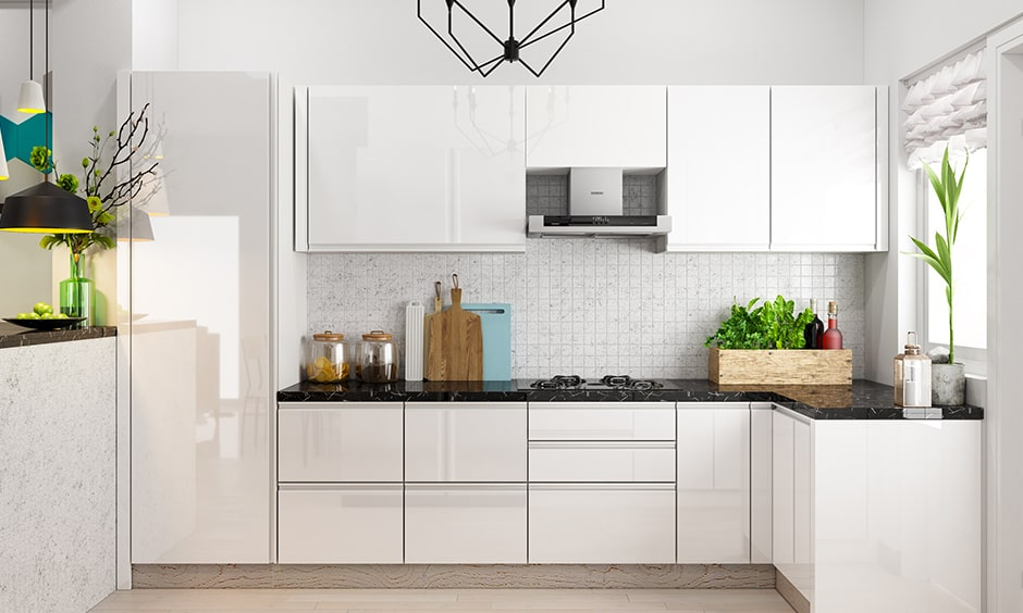 White kitchen cabinets for your home