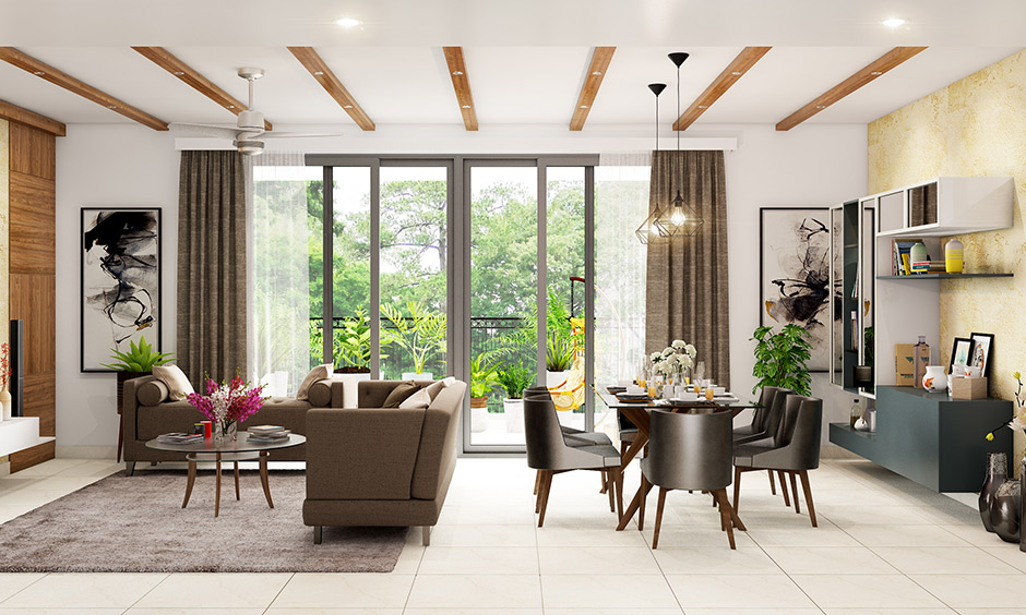 Types of false ceiling with wooden design for rustic lovers with a mix of pop and wood