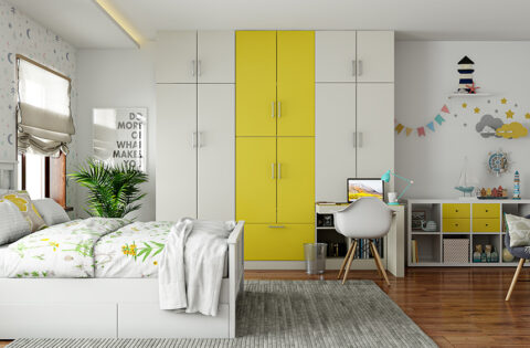 Multifunctional furniture design for small homes and apartments
