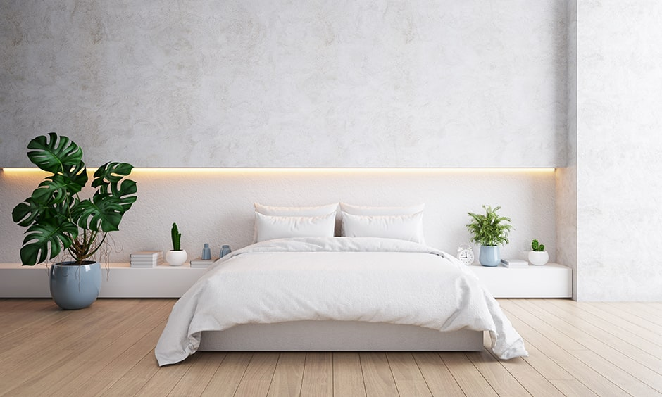 Modern minimalist bedroom design for your home