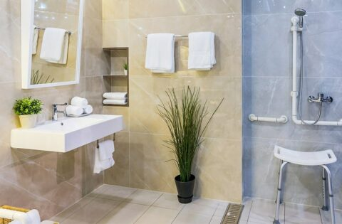 Bathroom design ideas for elderly old aged people