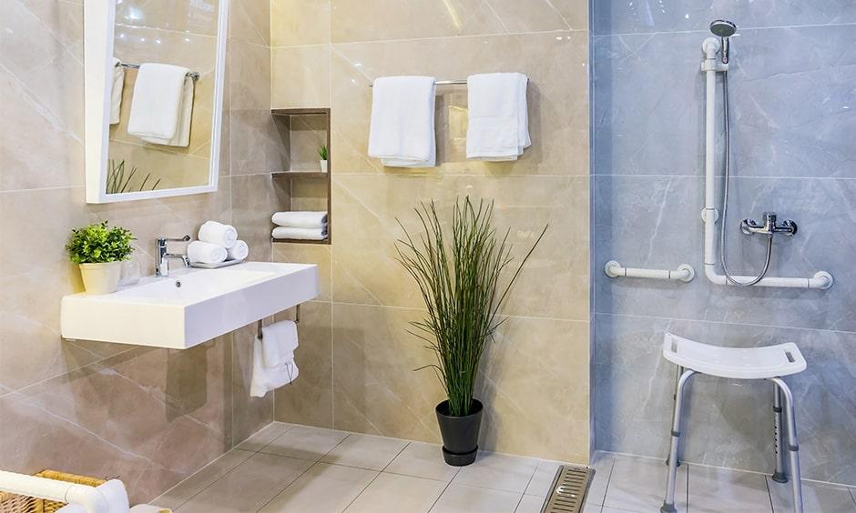 Bathroom design ideas for elderly old aged people
