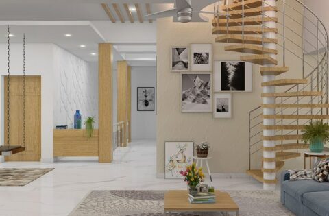 Modern wooden staircase design ideas for your home