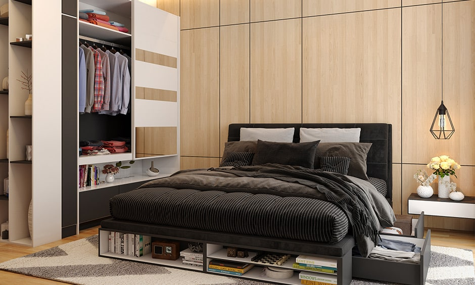 Simple closet design ideas for small rooms or modest rooms