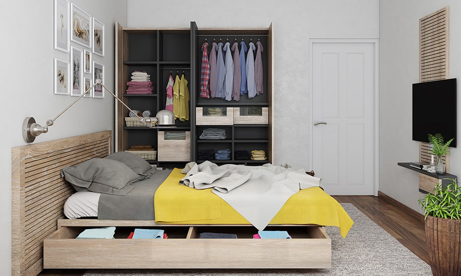 Smart closet design ideas makes a sleek look to your small rooms