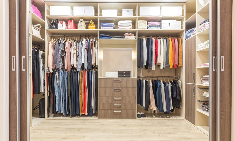 Walk-in closet design ideas for small space to your home