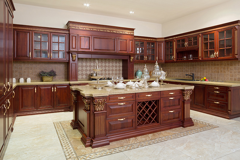 Classical modern grey kitchen cabinets good for storing your precious kitchenware
