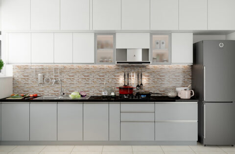 Aluminium kitchen designs for your home