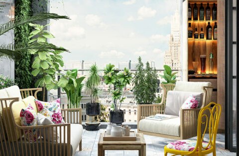 Small balcony design and decoration ideas for your home