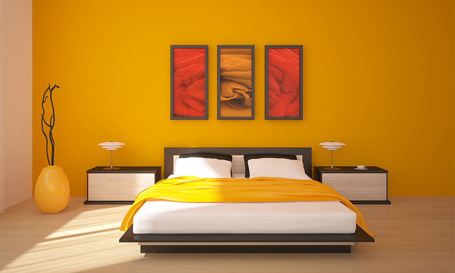 Orange Vastu colors for bedroom is all about action, energy and ambition vastu tips for bedroom colour
