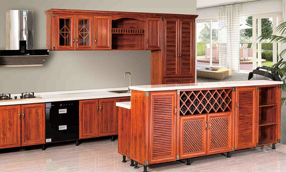 African mahogany kitchen add a pinch of modernity to your traditional looking kitchen