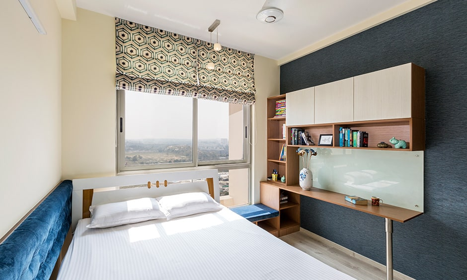 3bhk flat kids bedroom interior designed by home interior designers in bangalore bannerghatta road